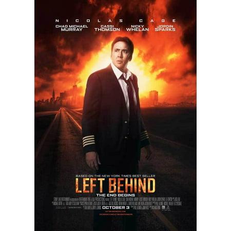 Left Behind  2014  11X17 Movie Poster