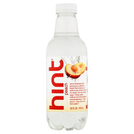 Hint Water Essence Peach,16 Fo (Pack Of 12) - Floor 8 Halloween Hint