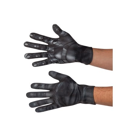 Adults Marvel Captain America Civil War Black Panther Gloves Costume Accessory