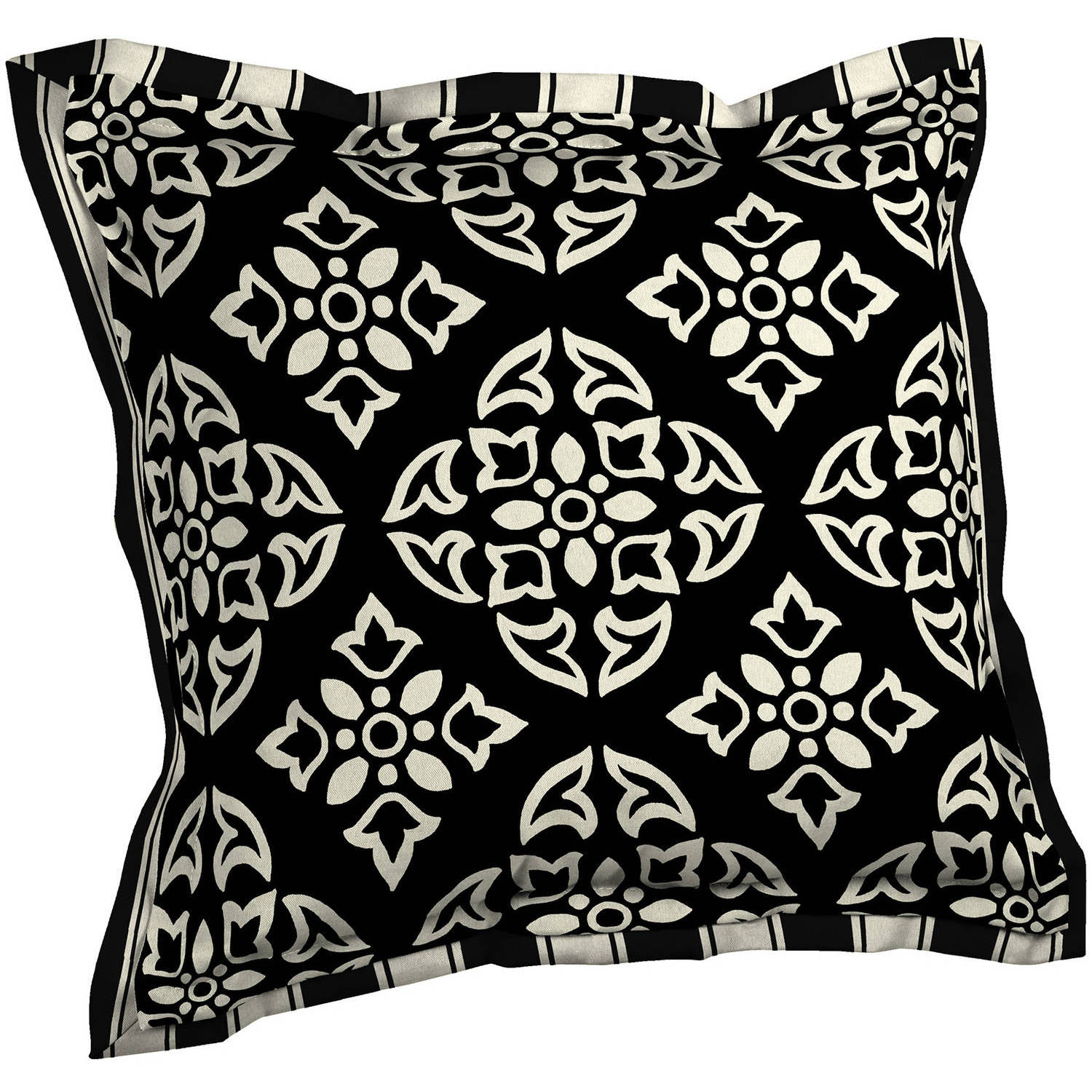 Better Homes And Gardens Outdoor Patio Reversible Deep Seat Pillow Back  With Flange, Multiple Patterns