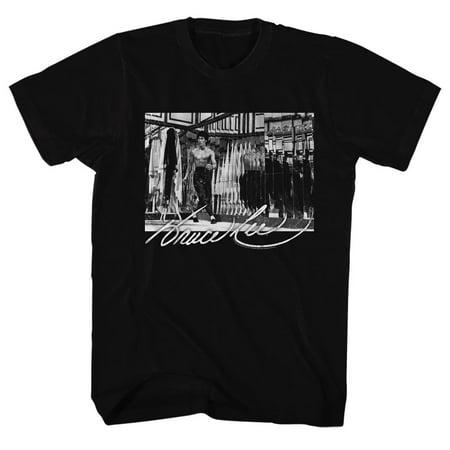 Bruce Lee Men's  Kung Fu Noises T-shirt Black