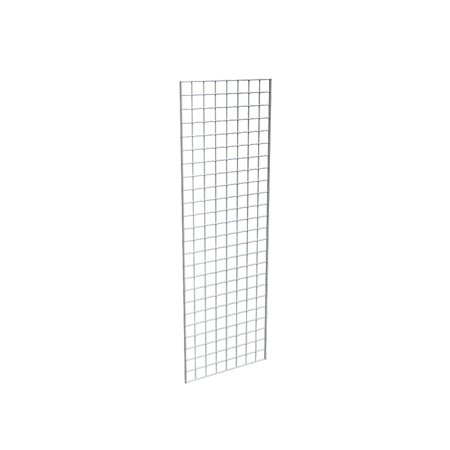 Grid Panel for Retail Display â Perfect Metal Grid for Any Retail Display, 2â Width x 6â Height, 3 Grids Per Carton (Chrome)