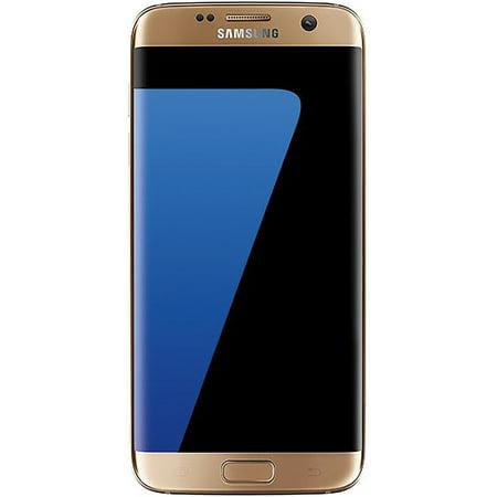 Samsung S7 Edge G935a 32gb Att Unlocked Gsm 4g Lte Android Phone W 12mp Camera Gold Platinum Refurbished
