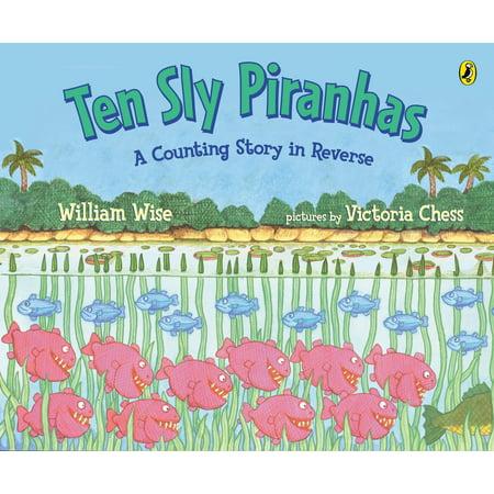 Ten Sly Piranhas (Aftermath Of A Kid Devoured By Piranhas)