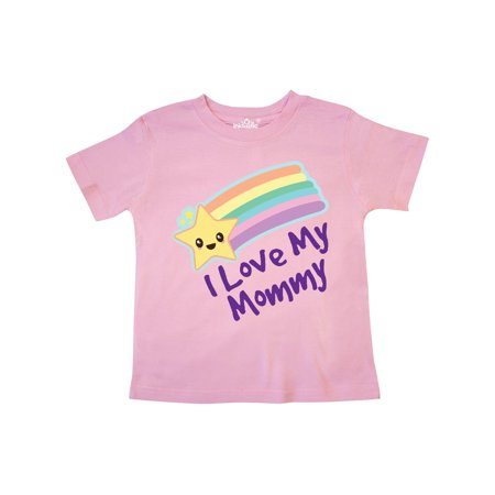 I Love My Mommy star Toddler T-Shirt