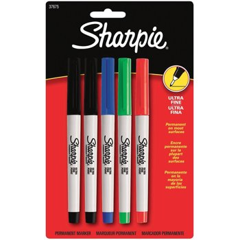 Sharpie Ultra Fine Point Permanent Markers (5-Count)