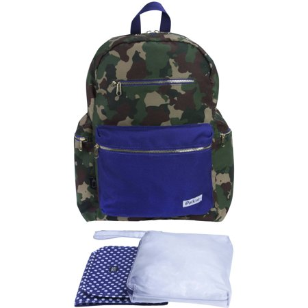 Ipack Baby Diaper Bag Backpack Camo