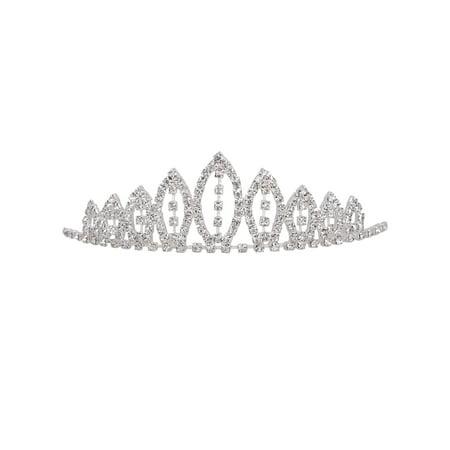 AshopZ Girl's Rhinestone Tiara Crown Little Princess Sweet Hair Accessory](Sweet 16 Tiaras)
