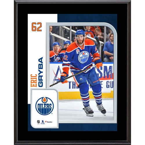 "Eric Gryba Edmonton Oilers 10.5"" x 13"" Sublimated Player Plaque - No Size"