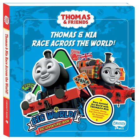 Thoma & Nia Race Across the World: A Big World, Big Adventures Book! (Board