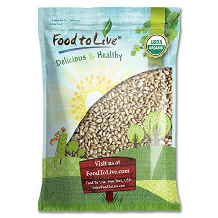 Food To Live ® Organic Pine Nuts / Pignolias (12