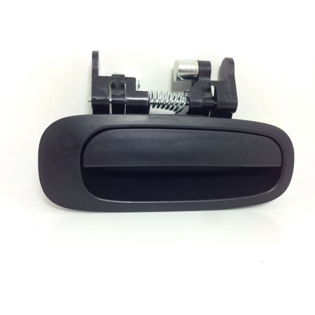 Right Rear Outside Door Handle - New 98-02 Corolla Prizm Black Outside Outer Exterior Rear Right Door Handles