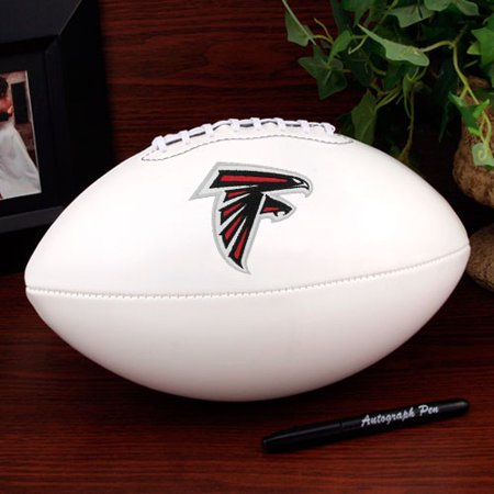 Atlanta Falcons Rawlings Signature Series Official Size Autograph Football - No Size