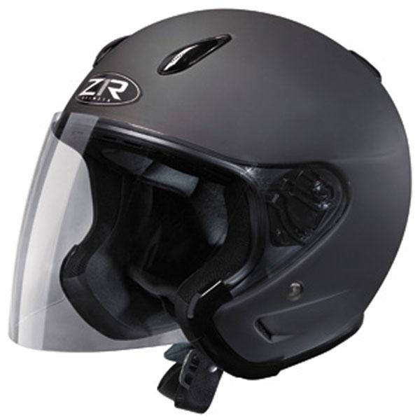 Z1R Ace Solid Helmet Rubatone Black