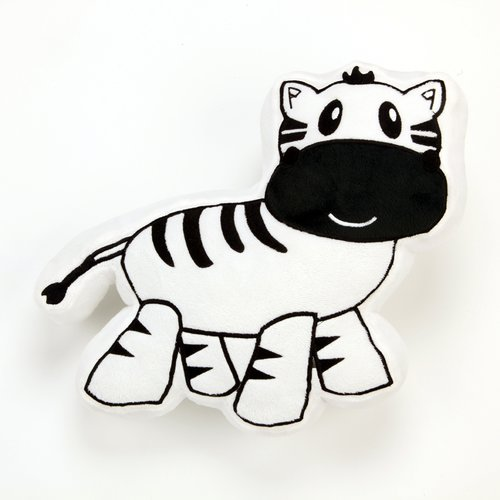 Zoomie Kids Fernwood Zebra Decorative Throw Pillow