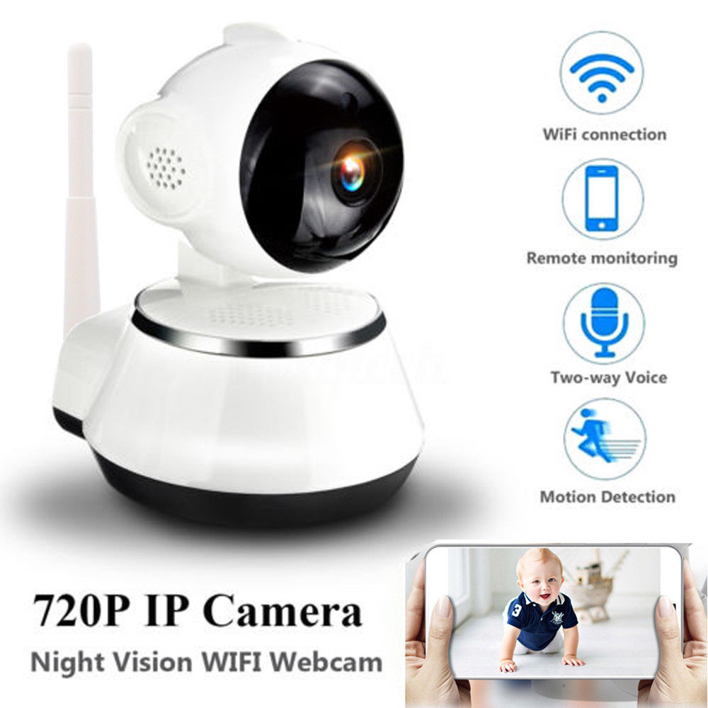 Ktaxon Wireless 720P Home Security IP Camera WiFi Baby Monitor Two-way Audio