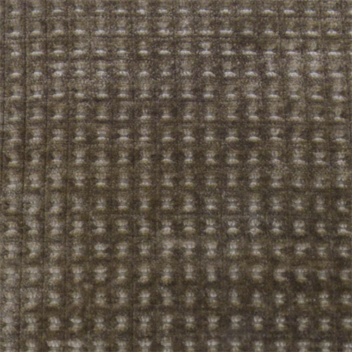 Merrimac Mocha Brown Gridlock Chenille Upholstery Fabric, Fabric By the Yard