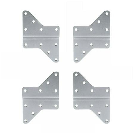 VideoSecu 4 VESA Extension Plates for VESA 200/400mm or Above LED Plasma TV Mount Bracket Accessory Extender Adapter b58