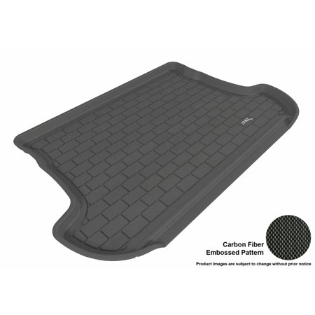 3D MAXpider 2003-2008 Toyota Matrix All Weather Cargo Liner in Black with Carbon Fiber