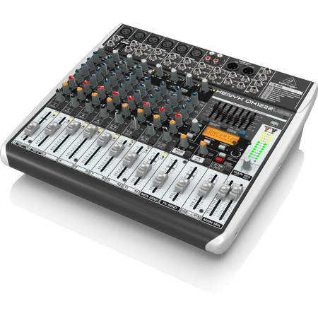 behringer qx1222usb 12 input 2 2 bus usb audio interface mixer w xenyx mic preamps compressors. Black Bedroom Furniture Sets. Home Design Ideas