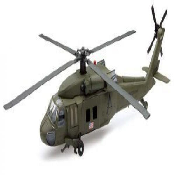 Sikorsky UH-60 Black Hawk Helicopter 1:60 Scale Model Assembly Kit NewRay