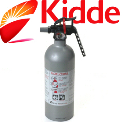FX5 II Kidde 2lb Fire Extinguisher Regular Dry Chemical Extinguisher Class B:C For Sandrail Or Buggy