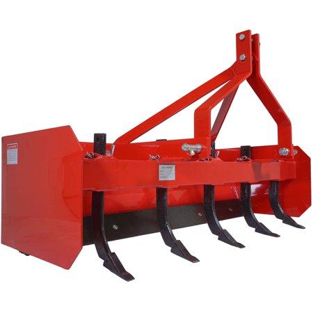 Blade Attachment (Titan 5' Box Blade Tractor Attachment Category 1 Cat 0 Scarifier Shank)