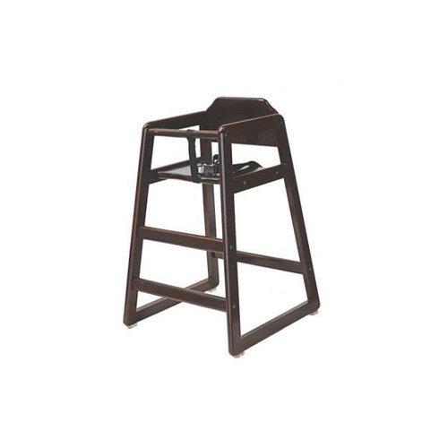 L.A. Baby Wood High Chair