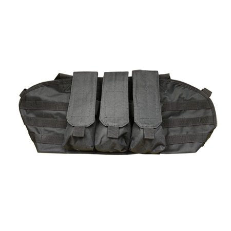 BLK-Molle Golem Chest Rig Tactical Pouch Mag Holder Pouches Rig Vest Mag Carrier