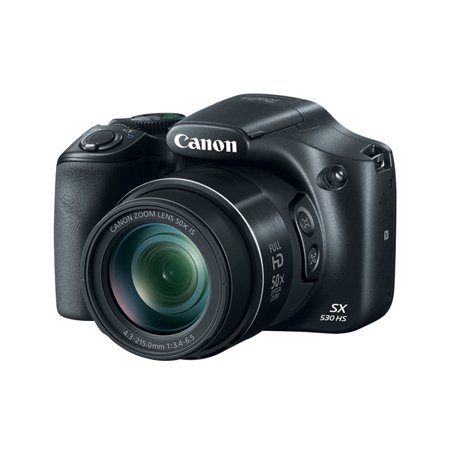 Canon SX530 PowerShot SX530 16MP 50x Zoom Digital Camera - Walmart.com
