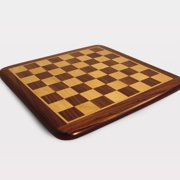 15 Inch Rosewood and Maple Chess Board with Frame