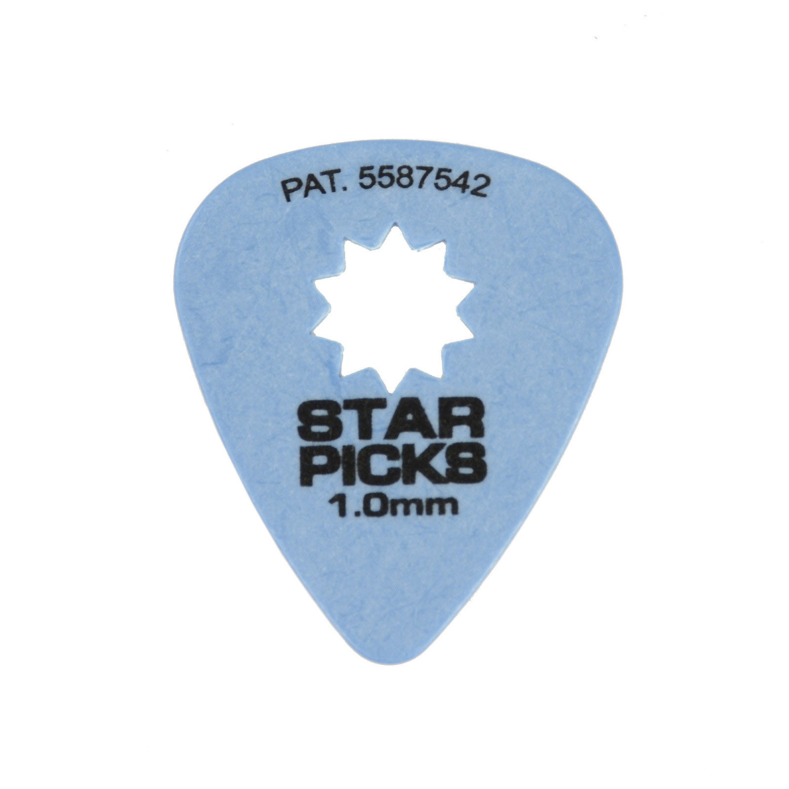 Blue 1.00Mm Everly Sure-Grip Star Pick (12 Pack) by Everly