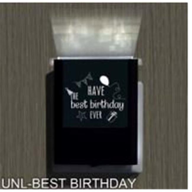 Uniqia UNLG0348 Night Light - Best Birthday Laser