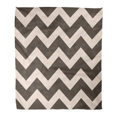 LADDKE Throw Blanket Warm Cozy Print Flannel Brown Abstract Chevron Pattern Geometric The for Layouts and Websites Pink Comfortable Soft for Bed Sofa and Couch 58x80 Inches ()