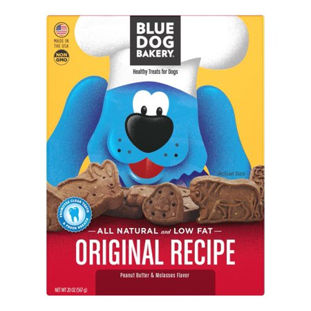 Blue Dog Bakery Peanut Butter & Molasses Healthy Dog Treats, 20 - Healthy Halloween Treats For Work