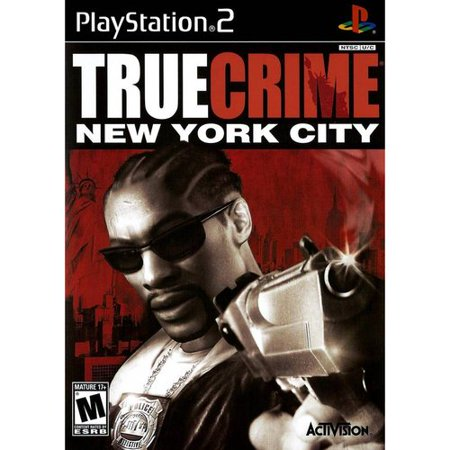 True Crime New York City Ps2