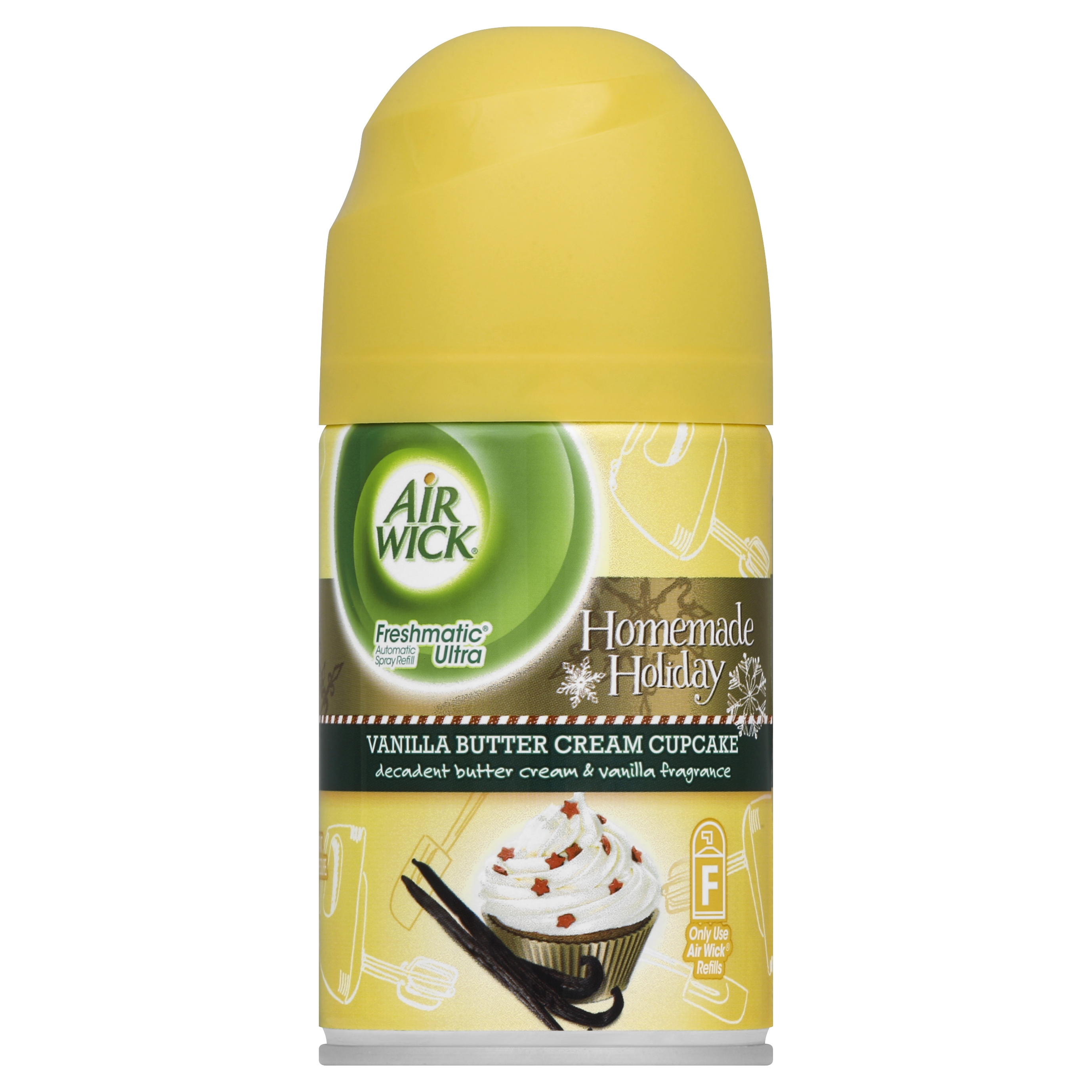 Air Wick Freshmatic Automatic Spray Air Freshener, Vanilla Indulgence Scent, 1 Refill, 6.17 Ounce