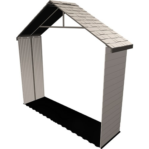 Lifetime 11 ft. Shed Extension Kit 30 in. No Windows. Desert Sand
