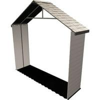 Lifetime 11 Ft Shed Extension Kit 30 In No Windows Desert Sand