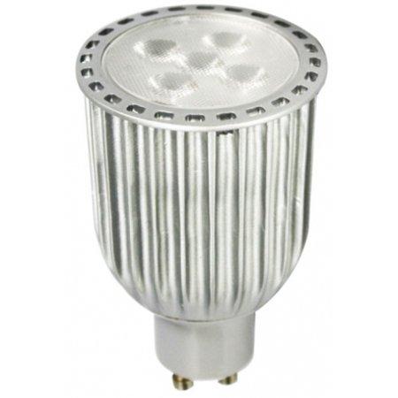 Gu10 Fluorescent Bulbs - Multipack of THREE (3) of LED 440LM (40W Eq) GU10 120V Dimmable Lamp Bulb UL