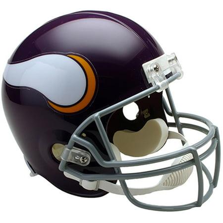 Riddell Minnesota Vikings Throwback 1961-1979 VSR4 Full-Size Authentic Football Helmet 1960 Authentic Throwback Helmet