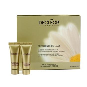 Excellence De LAge Divine Regenerating Mask Decleor 8 x 8 ml Mask Unisex