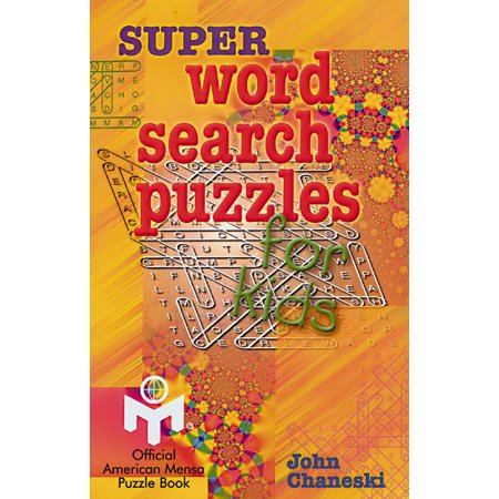 Super Word Search Puzzles for Kids - Halloween Children's Word Search