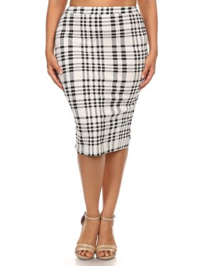 aa3f5d0df0d Product Image Plus size Women s Trendy Style printed Pencil Skirt