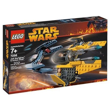Star Wars Revenge of the Sith Jedi Starfighter & Vulture Droid Set LEGO