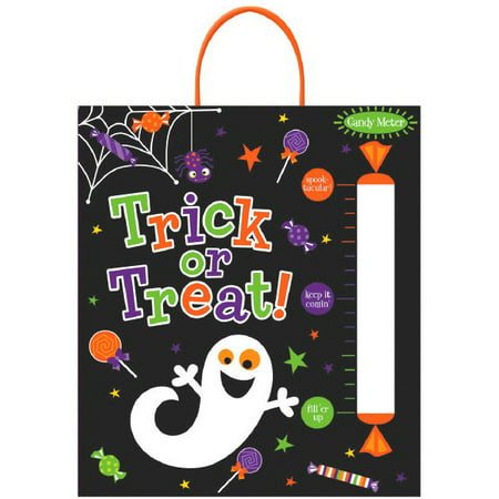 Candy Meter Deluxe Halloween Treat Loot Party Tote Bag 16