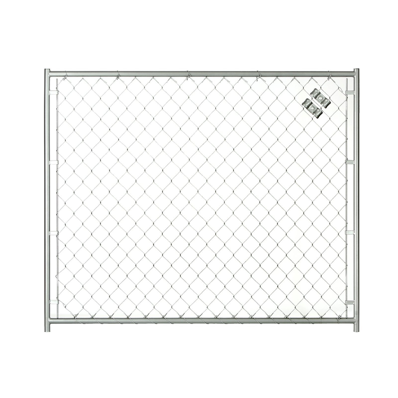 Lucky Dog 5W x 4H ft. Chain Link Modular Panel