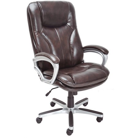 serta executive big tall puresoft office chair roasted. Black Bedroom Furniture Sets. Home Design Ideas