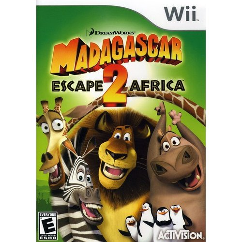 Madagascar 2: Escape 2 Africa (Wii)