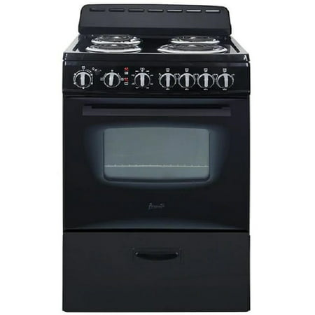 Avanti ERU240P1B 24 Inch Electric Freestanding Range - Black